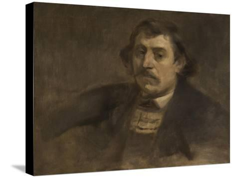 Portrait of Paul Gauguin, 1891-Eugene Carriere-Stretched Canvas Print