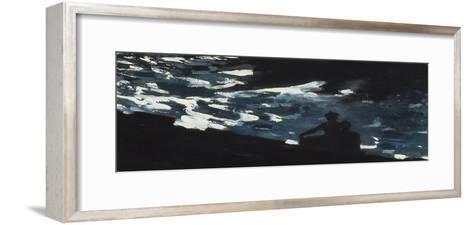 Moonlight on the Water, c.1906-Winslow Homer-Framed Art Print