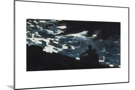 Moonlight on the Water, c.1906-Winslow Homer-Mounted Giclee Print