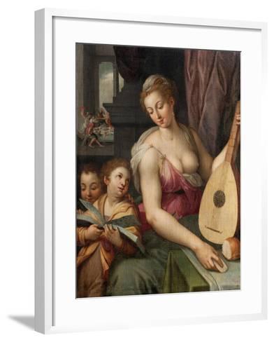 Allegory of Music, c.1575-Frans Floris-Framed Art Print