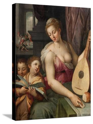 Allegory of Music, c.1575-Frans Floris-Stretched Canvas Print