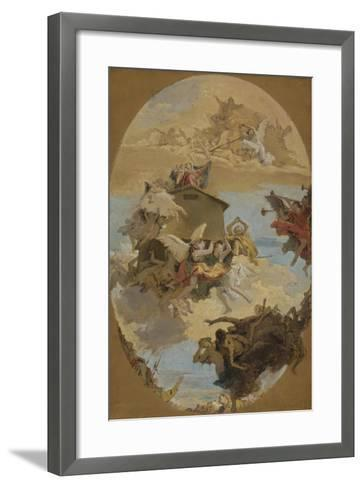 The Miracle of the Holy House of Loreto, 1743-Giovanni Battista Tiepolo-Framed Art Print