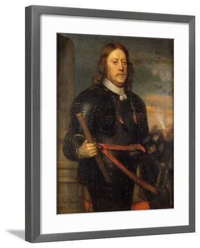 Count Per Brahe the Younger, c.1650-David Beck-Framed Art Print