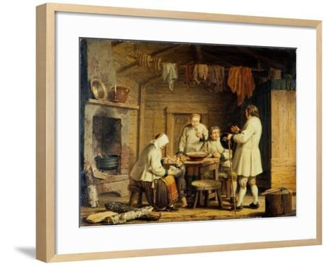 People from Mora in Dalecarlia, c.1800-Pehr Hillestrom-Framed Art Print