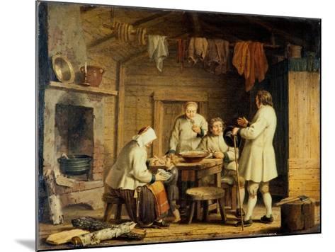 People from Mora in Dalecarlia, c.1800-Pehr Hillestrom-Mounted Giclee Print