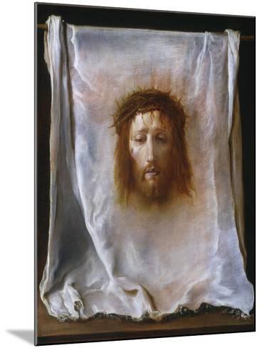 The Veil of Veronica, c.1618-22-Domenico Fetti or Feti-Mounted Giclee Print