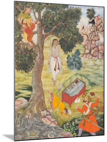 Tale of the Cunning Siddhikari, c.1590-Mughal School-Mounted Giclee Print