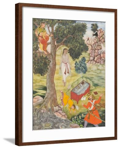 Tale of the Cunning Siddhikari, c.1590-Mughal School-Framed Art Print