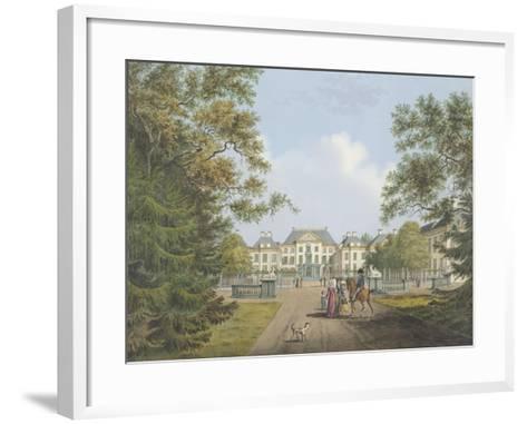 View of the Het Loo Palace-Cornelis de Kruyff-Framed Art Print