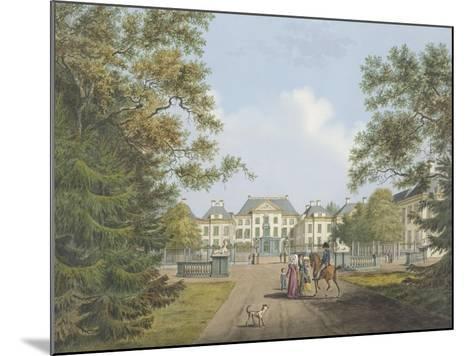 View of the Het Loo Palace-Cornelis de Kruyff-Mounted Giclee Print