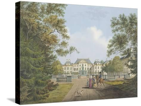 View of the Het Loo Palace-Cornelis de Kruyff-Stretched Canvas Print