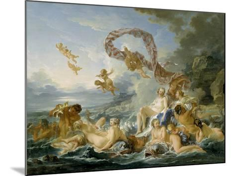 The Triumph of Venus, 1740-Francois Boucher-Mounted Giclee Print