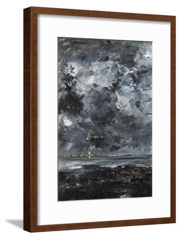 The Town-August Johan Strindberg-Framed Art Print