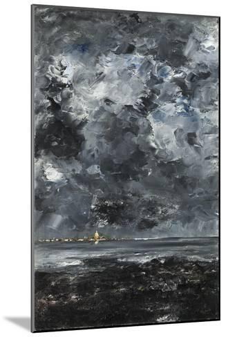 The Town-August Johan Strindberg-Mounted Giclee Print