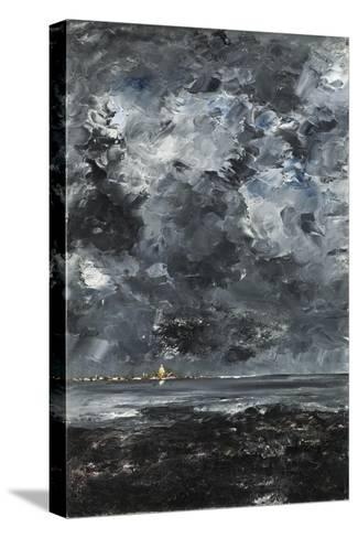 The Town-August Johan Strindberg-Stretched Canvas Print
