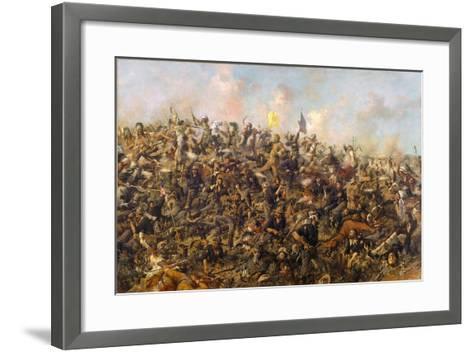 Custer's Last Stand by Edgar Samuel Paxson, 1899-Edgar Samuel Paxson-Framed Art Print