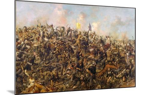 Custer's Last Stand by Edgar Samuel Paxson, 1899-Edgar Samuel Paxson-Mounted Giclee Print