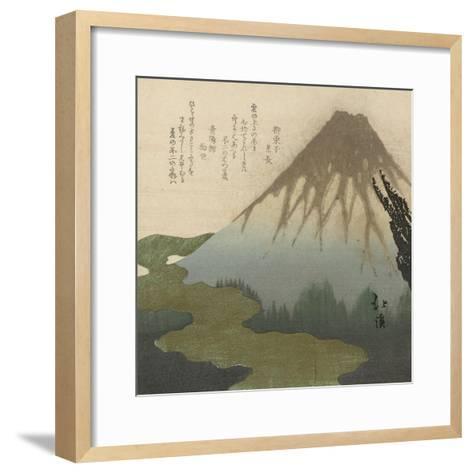 Mount Fuji, 1890-1900-Toyota Hokkei-Framed Art Print