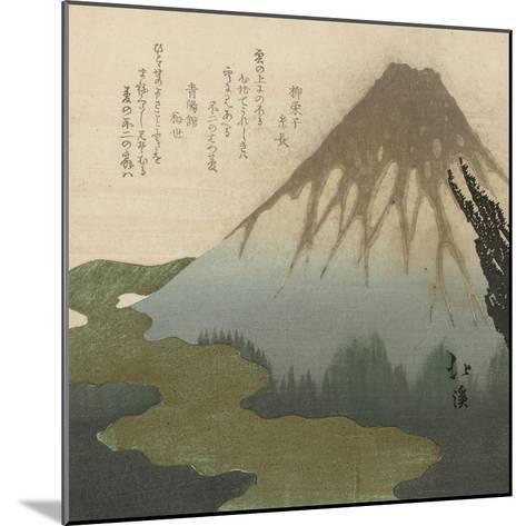 Mount Fuji, 1890-1900-Toyota Hokkei-Mounted Giclee Print