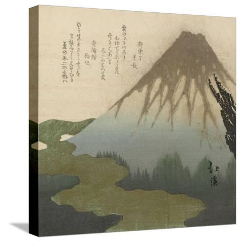 Mount Fuji, 1890-1900-Toyota Hokkei-Stretched Canvas Print