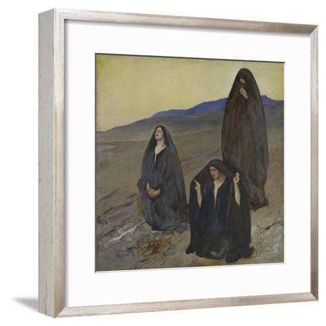 The Three Marys, c.1905-10-Edwin Austin Abbey-Framed Art Print