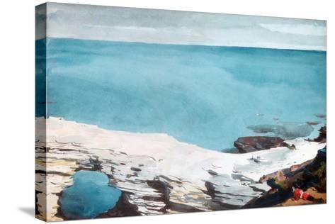 Natural Bridge, Bermuda, c.1901-Winslow Homer-Stretched Canvas Print