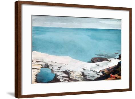 Natural Bridge, Bermuda, c.1901-Winslow Homer-Framed Art Print