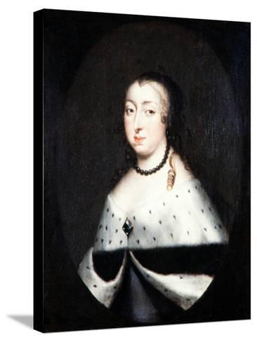 Hedvig Eleonora, Queen Dowager of Sweden, c.1661-David Klocker Ehrenstrahl-Stretched Canvas Print