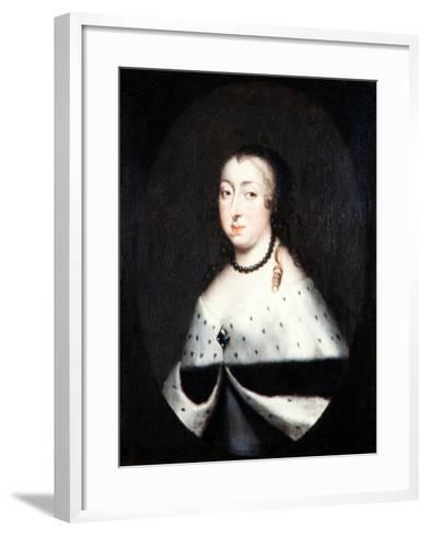 Hedvig Eleonora, Queen Dowager of Sweden, c.1661-David Klocker Ehrenstrahl-Framed Art Print