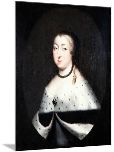 Hedvig Eleonora, Queen Dowager of Sweden, c.1661-David Klocker Ehrenstrahl-Mounted Giclee Print