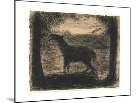 Foal (Le Poulain), 1882-83-Georges Pierre Seurat-Mounted Giclee Print