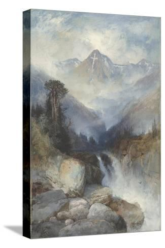 Mountain of the Holy Cross, 1890-Thomas Moran-Stretched Canvas Print