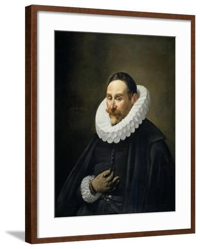 Portrait of a Gentleman, 1618-23-Fray Juan Batista Maino or Mayno-Framed Art Print