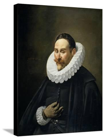Portrait of a Gentleman, 1618-23-Fray Juan Batista Maino or Mayno-Stretched Canvas Print