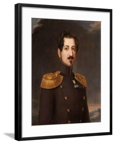 Oscar I, King of Sweden and Norway, 1844-Erik Wahlberg-Framed Art Print