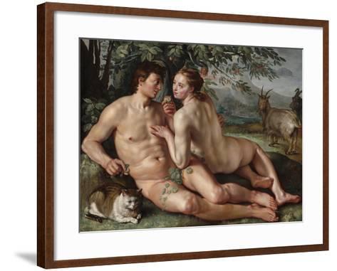 The Fall of Man, 1616-Hendrik Goltzius-Framed Art Print