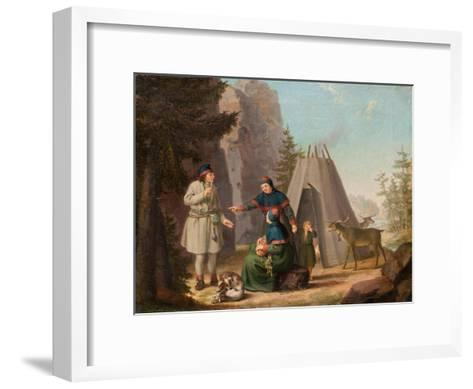 The Costumes of the Lapponians, c.1800-Pehr Hillestrom-Framed Art Print