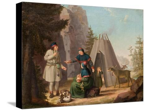 The Costumes of the Lapponians, c.1800-Pehr Hillestrom-Stretched Canvas Print