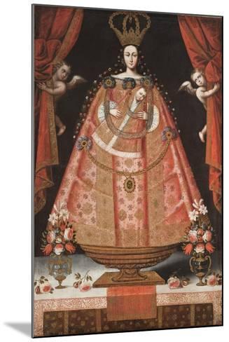 Virgin of Belén (Virgen de Belén), c.1700-1720-Cuzco School-Mounted Giclee Print