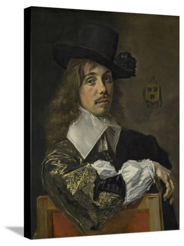 Willem Coymans, 1645-Frans Hals-Stretched Canvas Print