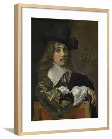 Willem Coymans, 1645-Frans Hals-Framed Art Print