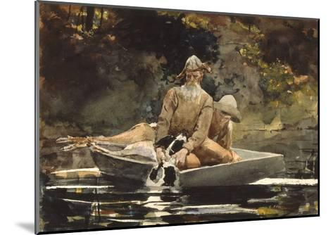 After the Hunt, 1892-Winslow Homer-Mounted Giclee Print
