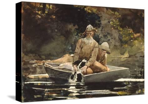 After the Hunt, 1892-Winslow Homer-Stretched Canvas Print