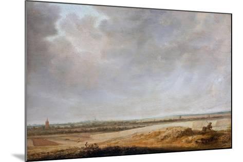Landscape with Cornfields, 1638-Salomon van Ruisdael or Ruysdael-Mounted Giclee Print