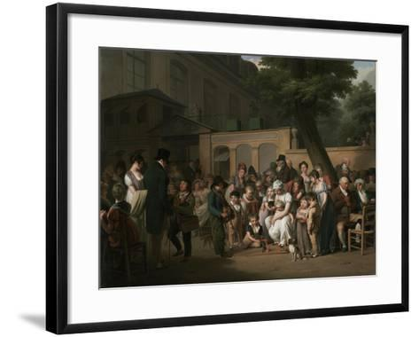 Entrance to the Jardin Turc, 1812-Louis Leopold Boilly-Framed Art Print