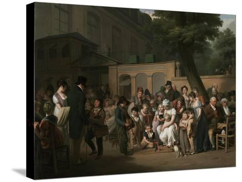 Entrance to the Jardin Turc, 1812-Louis Leopold Boilly-Stretched Canvas Print