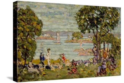 Cove, Maine, c.1907-10-Maurice Brazil Prendergast-Stretched Canvas Print