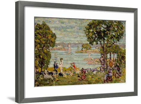 Cove, Maine, c.1907-10-Maurice Brazil Prendergast-Framed Art Print