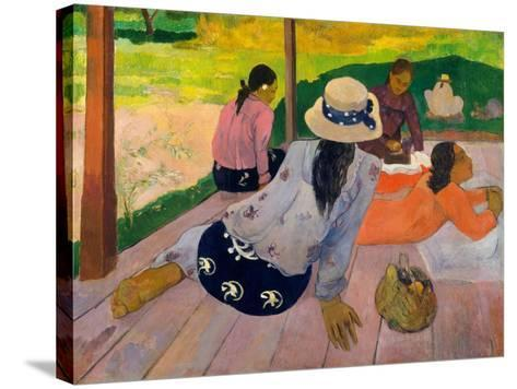 The Siesta, c.1892-94-Paul Gauguin-Stretched Canvas Print
