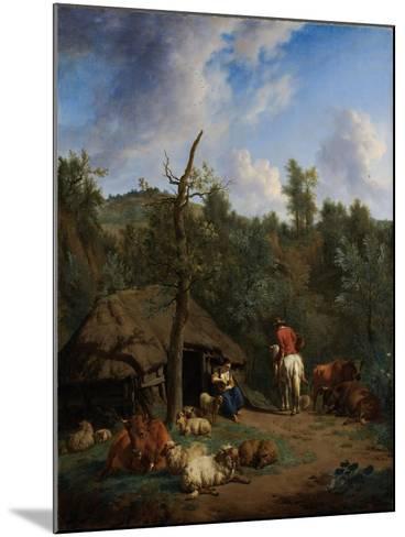 The Hut, 1671-Adriaen van de Velde-Mounted Giclee Print